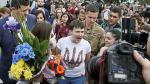 La piloto indultada por Putin vuelve a Ucrania como una heroína - Noticias de asesinato