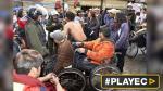 Bolivia: Reprimen protesta de discapacitados con gases y agua - Noticias de bolivia