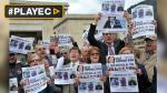 Protestas en Colombia para liberar a periodistas secuestrados - Noticias de alirio villamizar