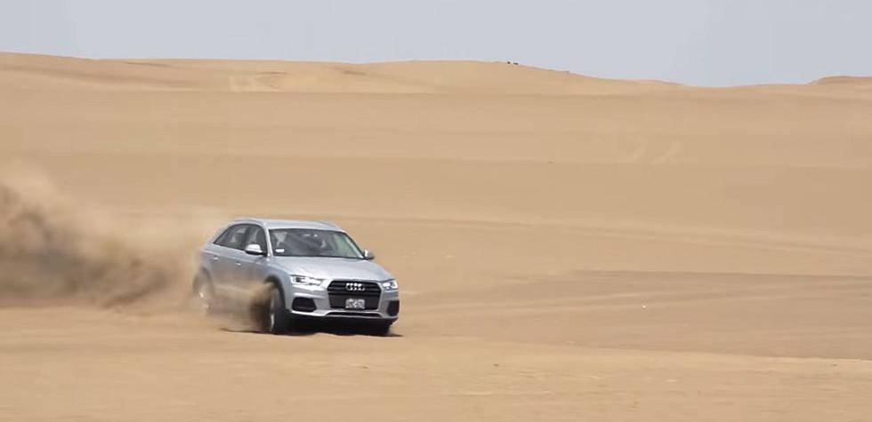 Audi demostró las condiciones off road de la Q3 y Q5 [VIDEO]
