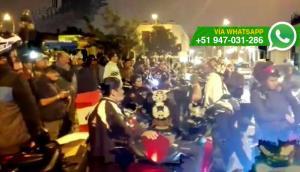 Pueblo Libre: motociclistas volverán a marchar contra ordenanza