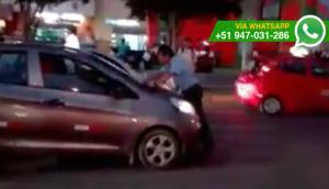 Chiclayo: este hombre exigió así que se respete paso peatonal