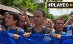 """Venezuela: Estudiantes marcharon por """"crisis universitaria"""""""