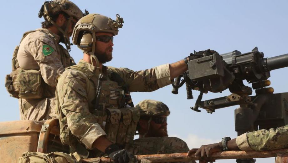 Soldados de EE.UU. en primera línea de combate en Siria [FOTOS]