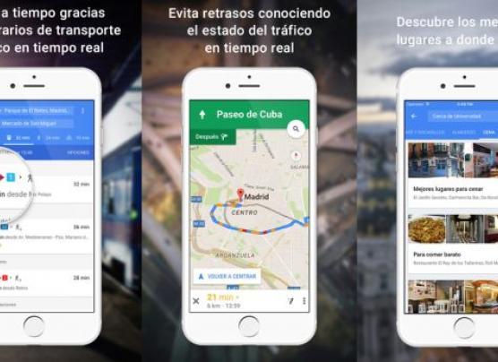 Google Maps: las novedades que trae en su última actualización