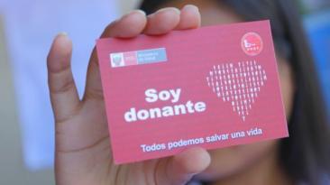 Aprobaron declaración jurada para donación de órganos