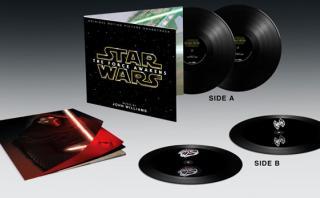 """""""Star Wars: Episodio 7"""": vinilo incluirá holograma flotante"""