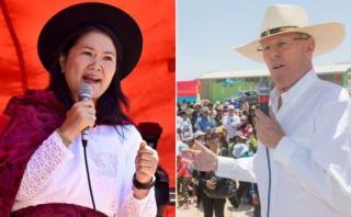 Keiko Fujimori vs. PPK: así van en las encuestas de esta semana
