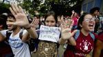 Estudiantes venezolanos protestan por crisis económica - Noticias de miraflores
