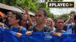 """Venezuela: Estudiantes marcharon por """"crisis universitaria"""" - Noticias de meones en la calle"""