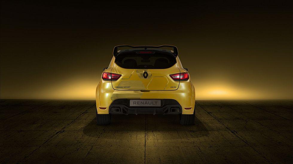 Renault Sport dio a conocer el Clio R.S. 16, un prototipo que alcanza los 275 HP. (fotos: difusión)