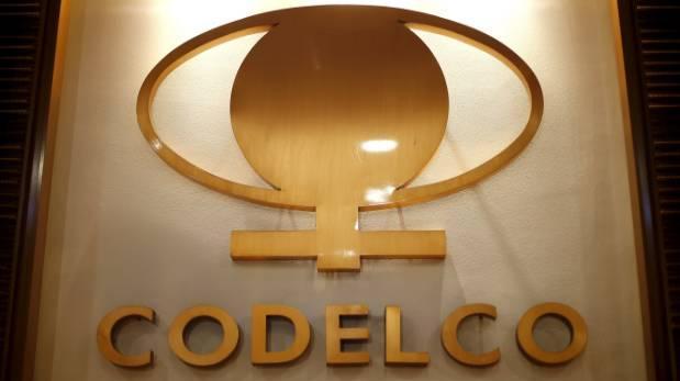 Cuprífera chilena Codelco pierde US$18 millones a septiembre