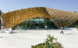 La selva se transporta al desierto de Dubái en este proyecto