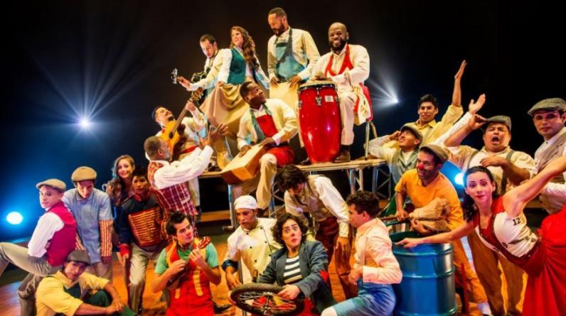 """El equipo de """"Tempo"""", el nuevo espectáculo de La Tarumba. Irá en Plaza Lima Sur desde el 14 de junio hasta el 28 de agosto. (Fotos: Difusión)"""