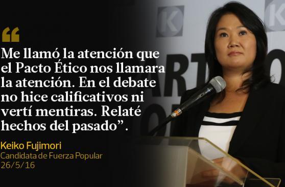 Las frases que Keiko Fujimori y PPK dejaron durante la semana
