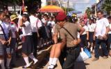 Pucallpa: más de 50 escolares se desmayan por el intenso calor