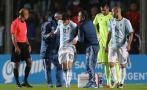 Messi salió golpeado y esta lesión asustó a toda Argentina