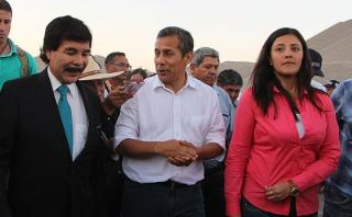"""Humala: """"En época de campaña, ningunean esfuerzo del gobierno"""""""