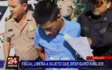 Chiclayo: fiscal liberó a sujeto que golpeó brutalmente a mujer