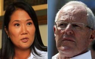 Keiko Fujimori llega a 40,1% de antivoto y PPK a 37%, según GFK