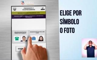 YouTube: ONPE te enseña a votar correctamente en segunda vuelta