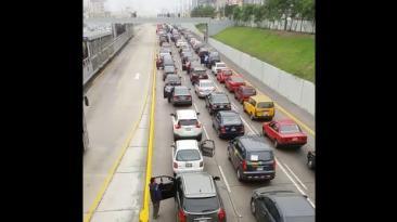 Vía Expresa: ¿qué ocasionó la congestión vehicular esta mañana?