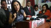 Nadine Heredia pide votar en contra de Keiko Fujimori