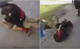 YouTube: niño da paliza a matón que le hacía bullying