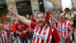 Hinchas del Atlético Madrid y Real Madrid tomaron Milán [FOTOS] - Noticias de la gran familia