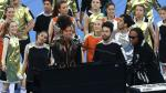 Champions League: Alicia Keys y Bocelli en la final [FOTOS] - Noticias de javier zanetti