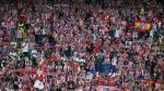 Real Madrid vs Atlético de Madrid: así se vive en el estadio - Noticias de hinchas famosos
