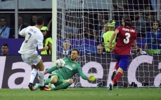 Oblak gigante: Cristiano y Bale fallaron claras ocasiones