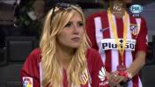 Carrasco besó a su bella novia luego del gol: conócela aquí
