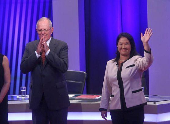 Debate presidencial: Keiko Fujimori vs PPK este domingo en Lima
