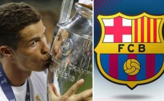 Champions League: Barcelona felicitó al campeón Real Madrid
