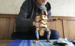 La asombrosa naturalidad con la que se mueve esta marioneta