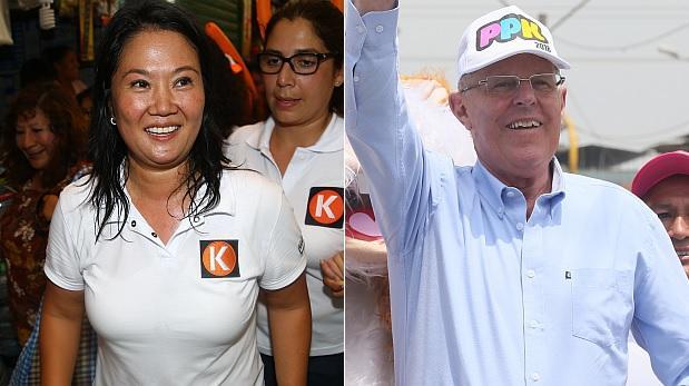 Simulacro Ipsos: Keiko Fujimori con 53,1% y PPK con 46,9%