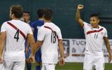 Perú derrotó 3-1 a El Salvador por compromiso amistoso
