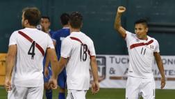 Perú ganó 3-1 a El Salvador previo al debut en Copa América