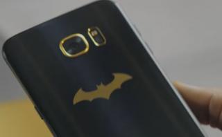 Samsung lanza edición del Galaxsy S7 Edge inspirada en Batman