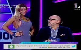 Xoana González impactó con su vestido en programa de Beto Ortiz