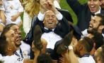 Ramos dijo que fue clave el optimismo que trajo Zinedine Zidane