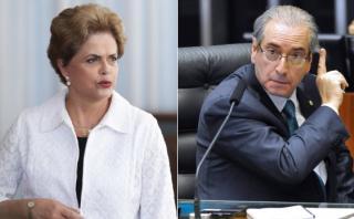 """Dilma: """"Eduardo Cunha es la persona central del Gobierno Temer"""""""