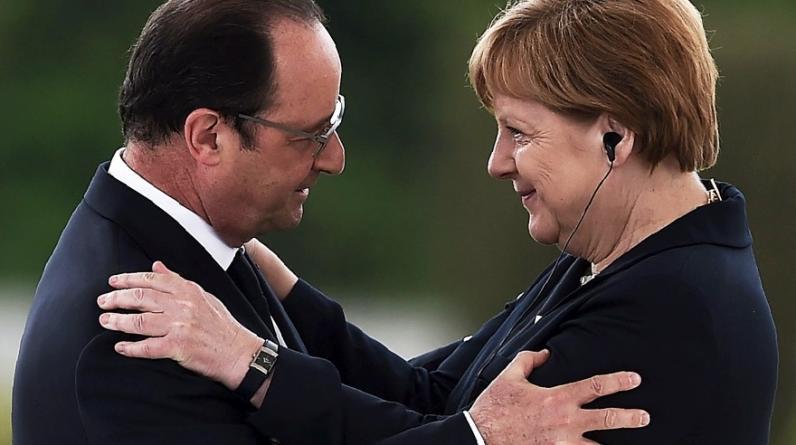 Con ceremonias solemnes en los bosques del este de Francia, el presidente de este país Francois Hollande y la canciller de Alemania, Angela Merkel, conmemoraron el domingo el centenario de la Batalla de Verdún, la más larga de la Primera Guerra Mundial. (Foto: AFP)