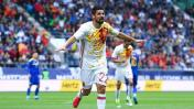 Nolito anotó gol de fantasía para España con este 'sombrero'