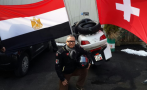 Sherif Loutfi, aventurero egipcio, recorrerá 13 países en moto