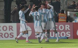 Argentina ganó 1-0 a Honduras y está lista para Copa América