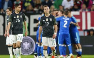 Alemania fue sorprendido por Eslovaquia y cayó 3-1 en amistoso
