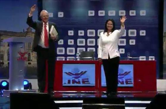Debate presidencial: la dura polémica entre PPK y Keiko