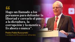 Las frases de PPK en el debate con Keiko Fujimori